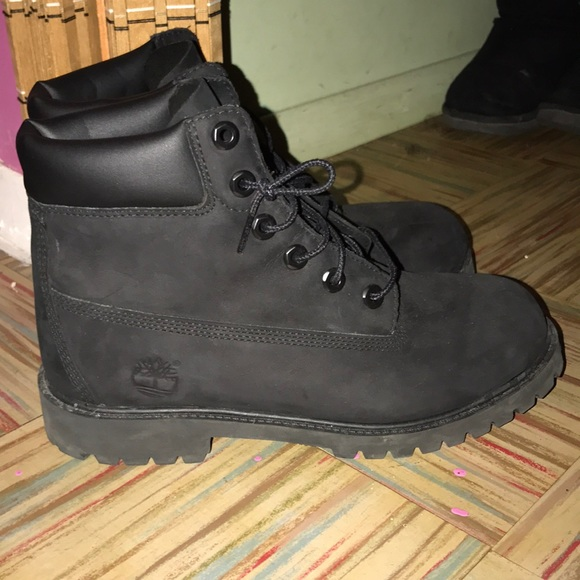 Timberland Shoes | All Black Timberland